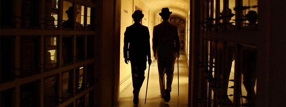 Sir Pomp & Sir Psycho on their way to work.